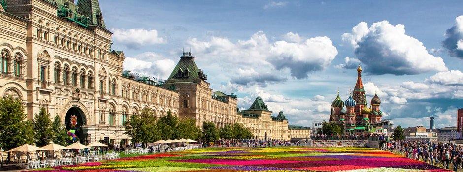 Shopping tour: Gold of Moscow